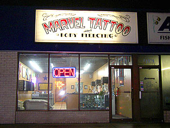 Marvel Tattoo : Exterior
